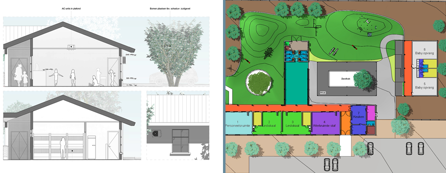 Default likewise Study Renovation Queen Beatrix Elementary School besides Page2 furthermore North End Of Lake Rosseau additionally Landscaping ground works. on home house construction